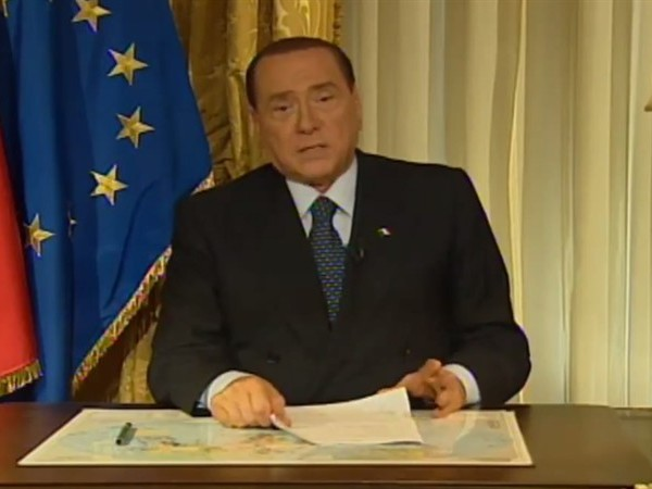 Silvio Berlusconi ed il videomessaggio in tv: atteso per oggi all'ora di pranzo
