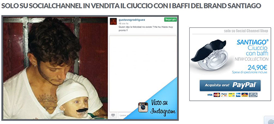 """Belen Rodriguez VS Social Channel: """"Sfruttare l'immagine di mio figlio per vendere prodotti è squallido"""""""