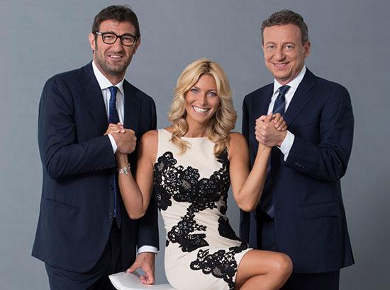 Stop & Gol, da oggi con Federica Fontana, Sandro Sabatini e Ciro Ferrara; in seconda serata Alessando Bonan