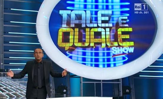 Ascolti Tv, 13 settembre 2013: Tale e Quale Show a 5,1 mln; Baciamo le mani a 5 mln