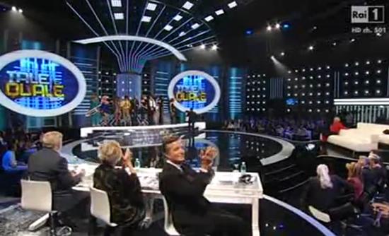 Ascolti Tv, 27 settembre 2013: Tale e Quale Show a 5,5 mln; baciamo le mani a 4,9 mln