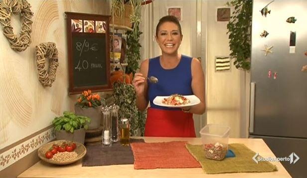 Cotto e Mangiato, la nuova stagione da oggi 15 settembre con Tessa Gelisio: novità ricette