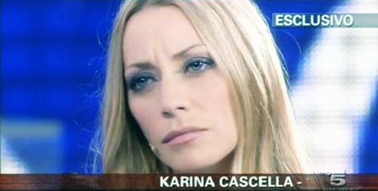 """Karina Cascella a Domenica Live: """"La mia storia con Salvatore è finita perché non mi amava più"""""""