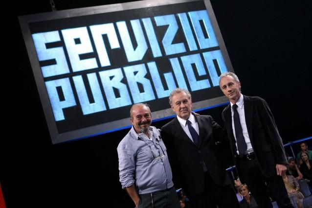 Servizio Pubblico, stasera la nuova puntata: Cacciari e Belpietro; intervista a Michelle Bonev su Berlusconi e Francesca Pascale