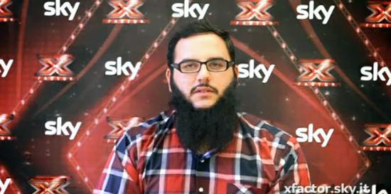 X Factor 7, Under Uomini: Andrea D'Alessio – scheda
