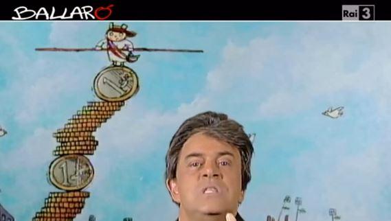 Ballarò, puntata 15 ottobre, copertina satirica di Maurizio Crozza su Brunetta e il mancato passaggio in Rai – VIDEO