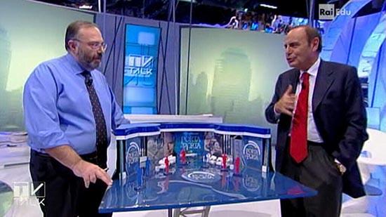 Tv Talk, da questo pomeriggio la nuova stagione: Vespa, Formigli e Freccero parlano dei talk politici