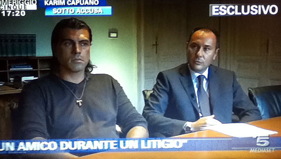 """Karim Capuano, in esclusiva a Pomeriggio Cinque: """"Mi sono difeso, sono sconvolto"""""""