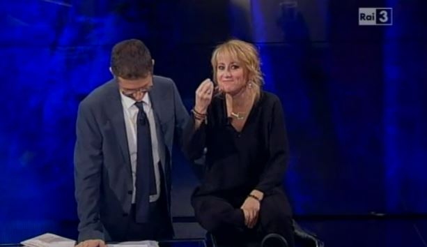 Che tempo che fa: Luciana Littizzetto tra il battesimo di George e la separazione di Raoul Bova – VIDEO