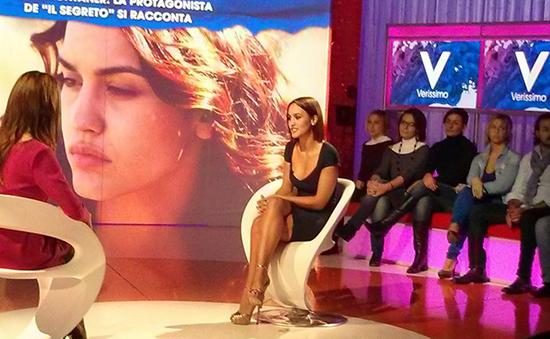 """Verissimo, intervista a Megan Montaner de Il Segreto: """"Pepa è un'eroina"""""""