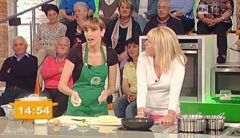 La Prova del Cuoco: Antonella Clerici ospita nuovamente Benedetta Parodi