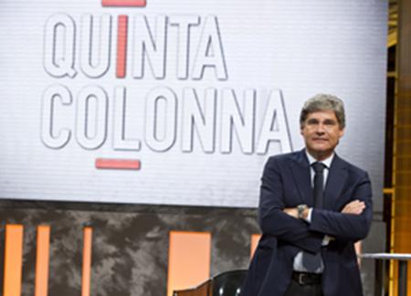 Quinta Colonna, anticipazioni stasera 29 maggio: i furbetti del cartellino e tema sicurezza, info streaming