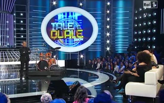 Ascolti Tv, 9 ottobre 2013: Tale e Quale Show a 4,9 mln; Le tre rose di Eva a 4,8 mln