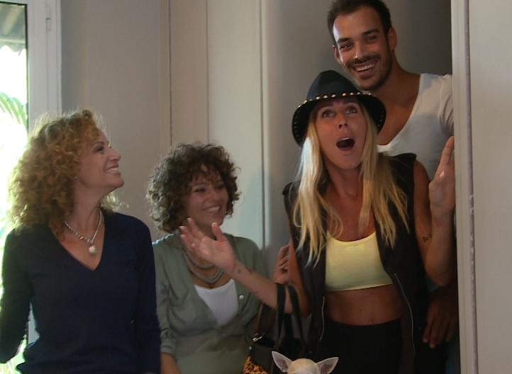 Vieni a vivere con me, da stasera su La5: Guendalina Canessa e Luca Marin protagonisti della prima puntata