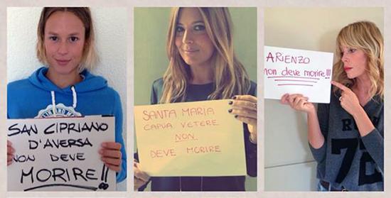 """Dopo Le Iene, Selvaggia Lucarelli lancia l'iniziativa: """"La Terra dei fuochi non è sola"""". Da Emma a Fiorello i Vip adottano un comune"""