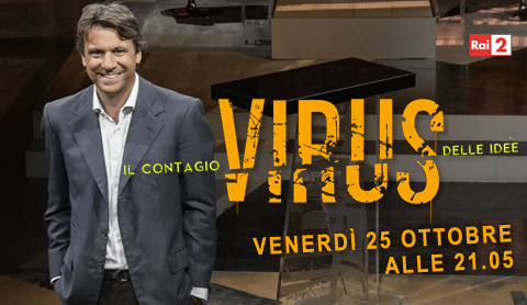 Virus, stasera la nuova puntata su RaiDue: Nicola Porro intervista Matteo Renzi