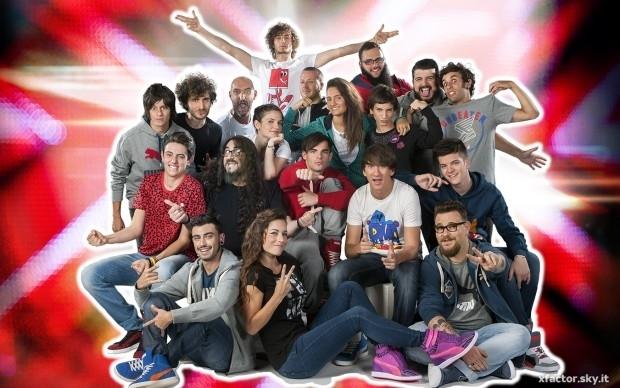 X Factor 7, ecco i 12 concorrenti che accedono al talent
