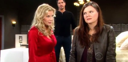 Beautiful anticipazioni, trame dal 25 al 29 novembre: Katie sorprende Bill e Brooke insieme