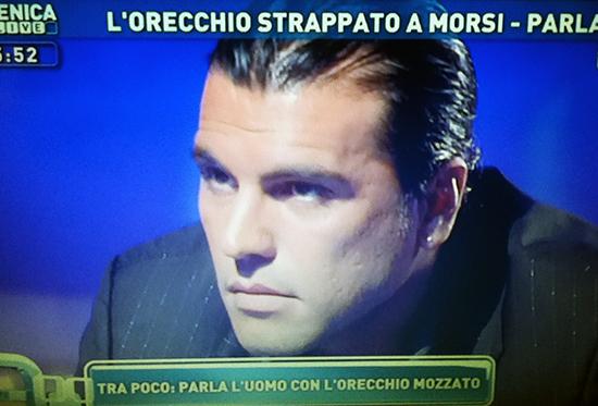 Karim Capuano a Domenica Live chiede scusa a Maria De Filippi e si arrabbia con Luciana Littizzetto