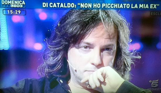 """Domenica Live, Massimo Di Cataldo racconta la sua verità: """"La mia ex vuole distruggermi, mi odia"""""""