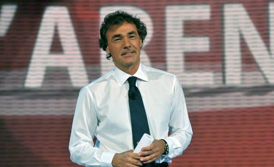 Domenica In, 24 novembre 2013: Angelino Alfano da Massimo Giletti, Formula 1 al posto della Venier