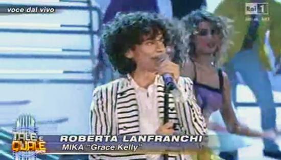 Tale e Quale Show: Roberta Lanfranchi imita Mika ma non convince – VIDEO
