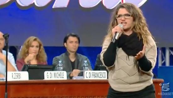 """Amici 13, Maria De Filippi contro Grazia Di Michele difende Deborah: """"Parlare di fisicità in TV va fatto con una certa cautela"""""""