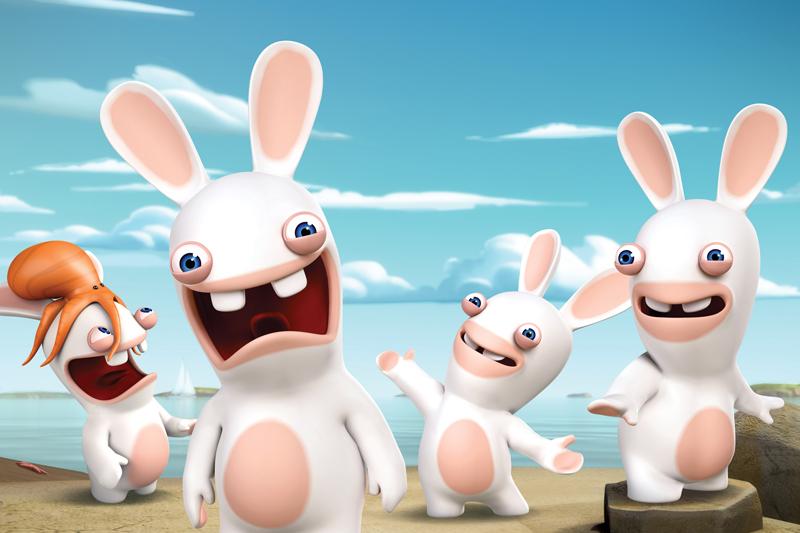 Rabbids Invasion, arrivano su Nickelodeon gli irriverenti coniglietti bianchi da questo pomeriggio