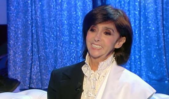 """Anna Marchesini a Domenica In: """"Sono felice, la vita mi vive talmente forte dentro che non dipende da me"""""""