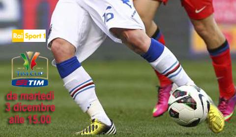 Calcio in Tv, Coppa Italia in diretta tv e streaming: i match di oggi 4 dicembre
