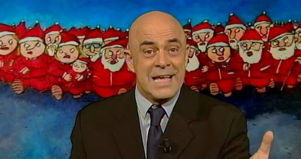 Ballarò puntata 17 dicembre, copertina satirica di Maurizio Crozza: imitazione Giorgio Napolitano – VIDEO