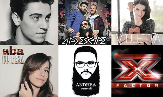 X Factor 7: usciti oggi gli EP con gli inediti di Michele Bravi, Ape Escape, Violetta, Aba e Andrea