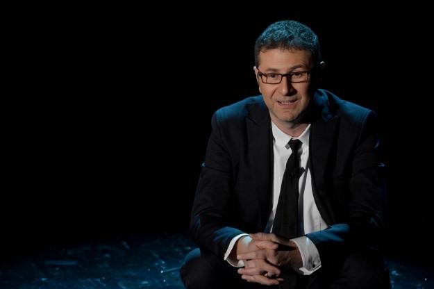 """Sanremo 2014, Fabio Fazio sui talent show a L'Arena di Giletti: """"Nessuna preclusione né necessità"""""""