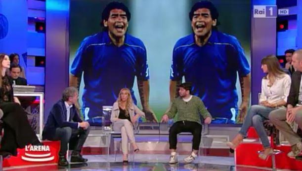 Maradona contro L'Arena e Massimo Giletti: querele in arrivo per conduttore ed ospiti