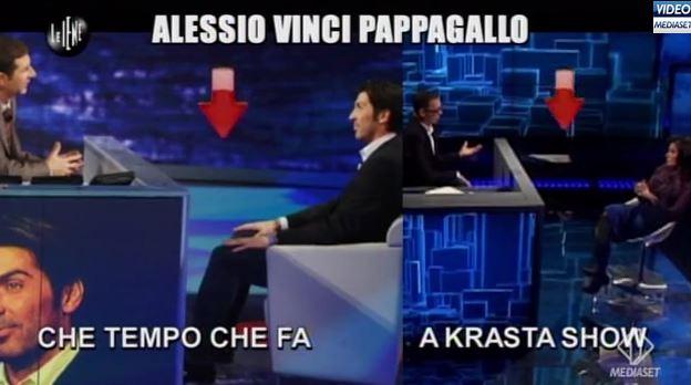 """Le Iene Show: Alessio Vinci, Che tempo che fa e la sua copia albanese. """"Non sono uguali, sono simili"""" – VIDEO"""