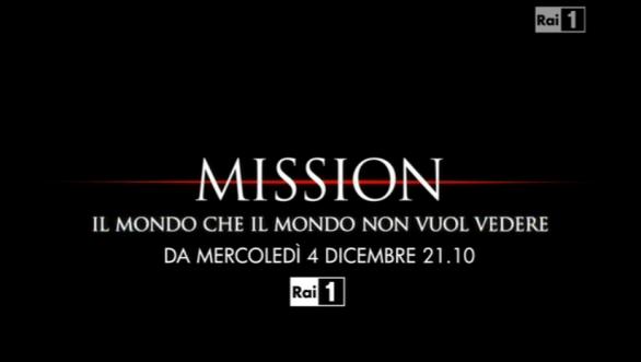 Mission, stasera su RaiUno la prima puntata con Michele Cucuzza: ecco i protagonisti