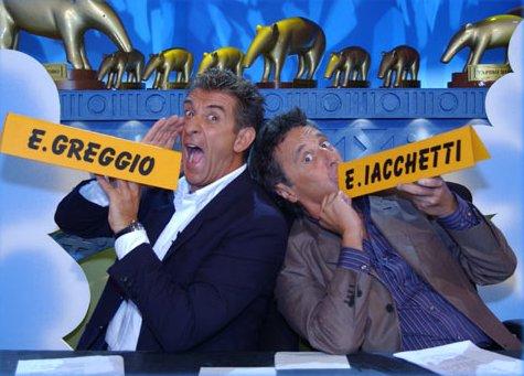 Striscia la Notizia: da stasera 30 novembre il ritorno della coppia Ezio Greggio ed Enzo Iacchetti