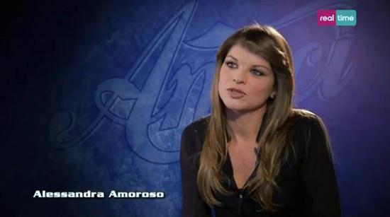 Amici 13, intervista ad Alessandra Amoroso: il talent ha dato un nome e un colore alla sua musica – VIDEO