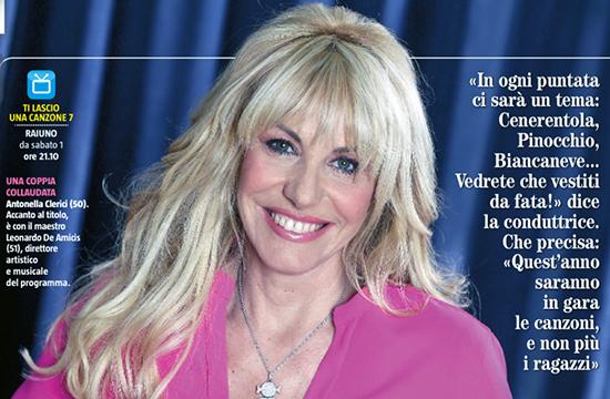 """Ti lascio una canzone, Antonella Clerici racconta la nuova edizione: """"Puro varietà, protagoniste solo le canzoni"""""""
