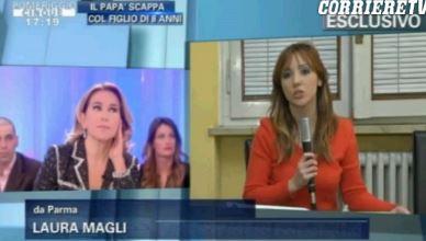 """La Vita in Diretta replica a Barbara d'Urso e lancia la """"frecciatina"""" sulla clip del bimbo andata in onda – VIDEO"""