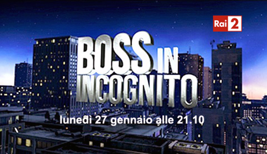 Boss in incognito: stasera la prima puntata su RaiDue dalle 21.10 con Costantino Della Gherardesca
