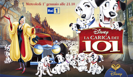 Film in Tv: La Carica dei 101, stasera alle 21.10 su RaiUno