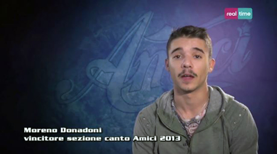 """Amici 13, intervista a Moreno Donadoni: """"Lo studio nel talent mi ha reso un rapper migliore"""" – VIDEO"""