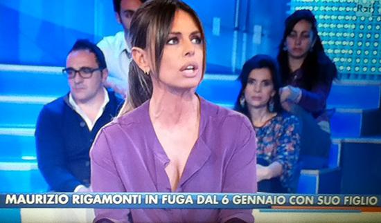 """La Vita in Diretta scippa il padre di Maurizio Rigamonti a Barbara d'Urso in diretta TV: """"Colleghi scorretti"""""""