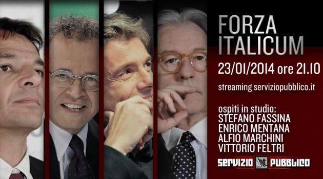 Servizio Pubblico, stasera la nuova puntata: Alessandro Di Battista, Stefano Fassina, Enrico Mentana tra gli ospiti