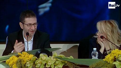 Sanremo 2014, conferenza stampa 19 febbraio: focus sul tentato suicidio in diretta