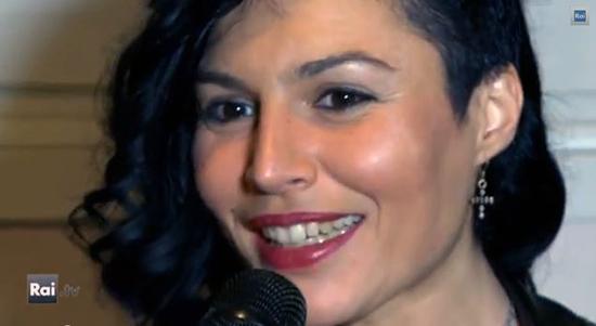 """Sanremo 2014, Giusy Ferreri racconta i suoi brani: """"L'amore alla base. Uno più intimo, l'altro più fresco"""""""
