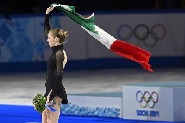 Olimpiadi Sochi 2014, successo per Sky e Cielo: record con Carolina Kostner