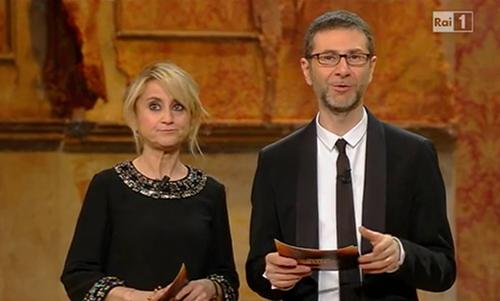 Ascolti Tv, 19 febbraio 2014: crolla il Festival di Sanremo 2014 con 7,7 mln; Milan – Atletico Madrid a 5,5 mln