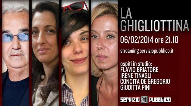 Servizio Pubblico, stasera la nuova puntata: Flavio Briatore, Irene Tinagli, Concita De Gregorio tra gli ospiti